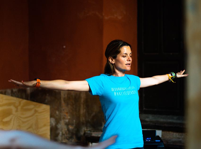 Slow Yoga o la conexión contigo misma en el Centre del Carme de Valencia